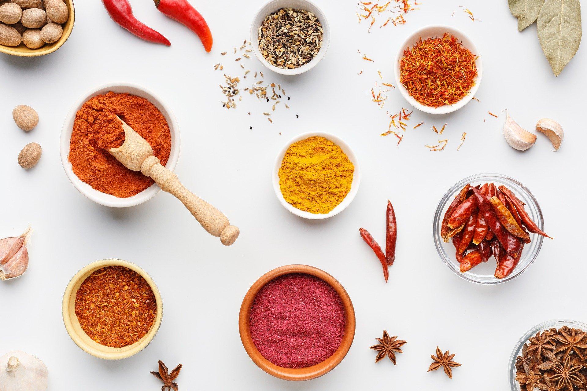 Smage og krydderier